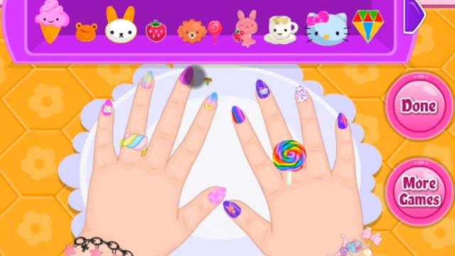 Baby Barbie Crazy Nails Play The Girl Game Online