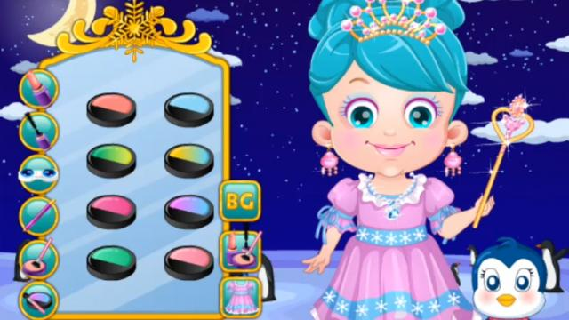 Baby Hazel Ice Princess Dressup - Play The Girl Game Online