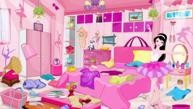 Cleaning Messy Room ballerina girl messy room cleaning - play the girl game online
