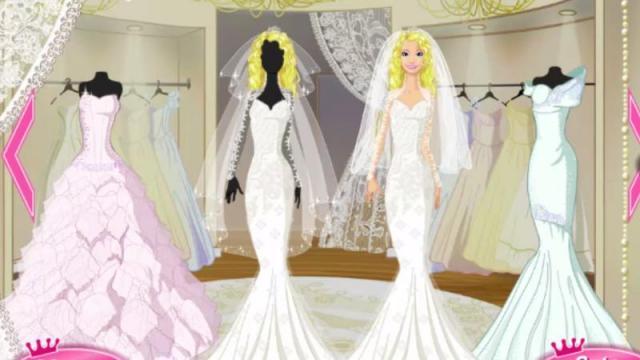 Juegos de vender vestidos de novia y maquillar