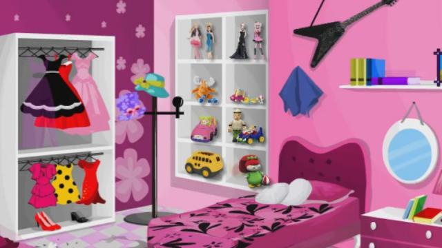 Barbie Bedroom Clean Play The Girl Game Online