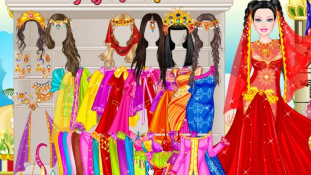 Barbie Persian Princess Dress Up Play The Girl Game Online - Barbie hairstyle design game