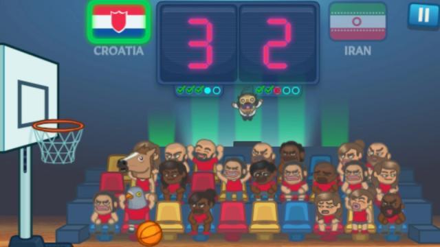 basket spil