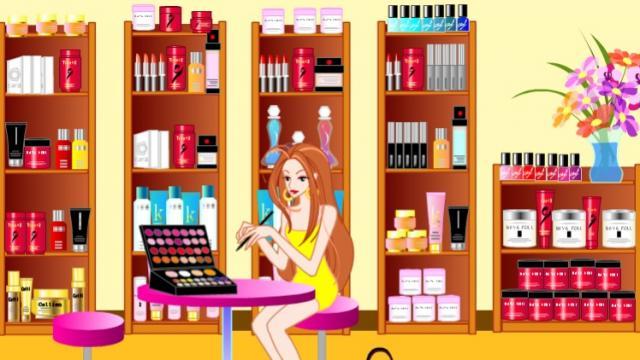 Beauty Salon Designer - Ein Gratis-Spiel für Mädchen auf GirlsGoGames.de