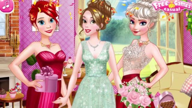 princess bridal shower party play the girl game online