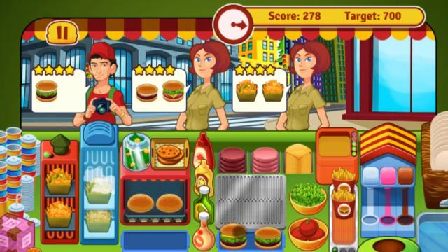 Burger Restaurant Express Free Online Games At Agamecom