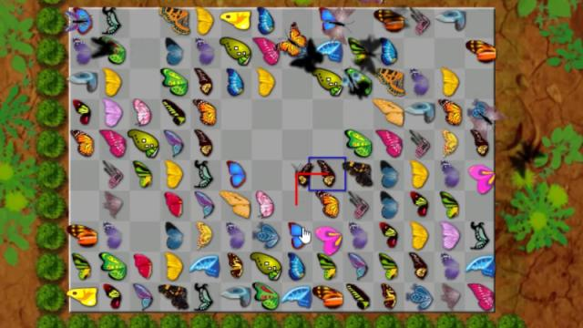 Butterfly Kyodai Free Online Games At Agame Com