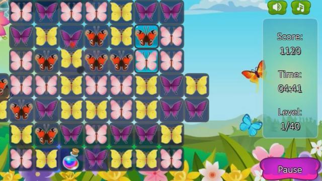Uniendo Mariposas Juega A Juegos En Linea Gratis En Juegos Com