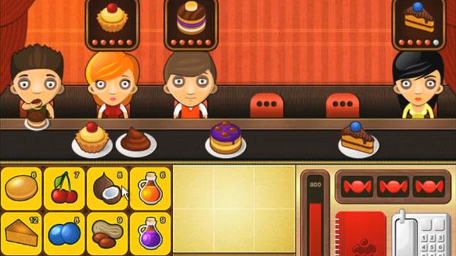 cake bar restaurant food serving game free online games at agame com