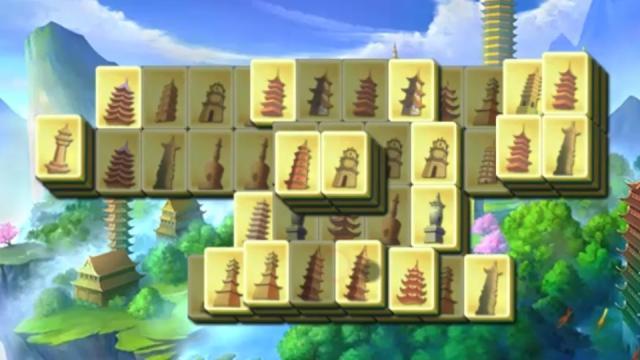china mahjong tower