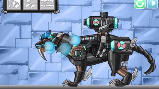 Dunia Robot Robot Dino