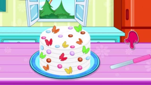 Pictures Of Rainbow Birthday Cakes