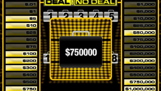 deal or no deal free online games at agame com