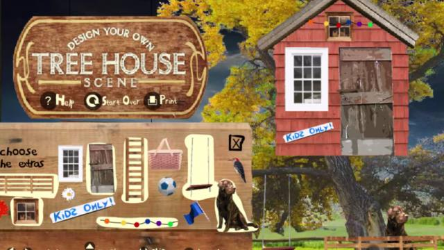 Tree House Building Free Online Games At Agame Com
