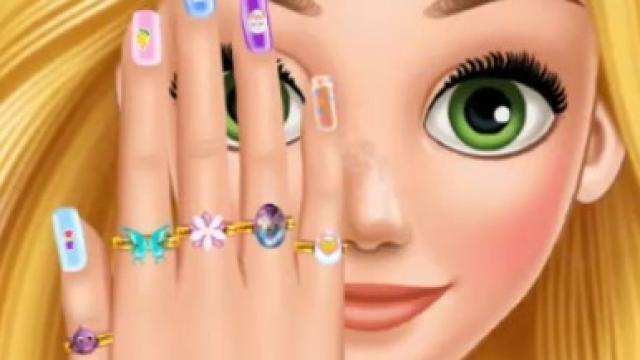 Easter Nails Designer Play The Free Game Online