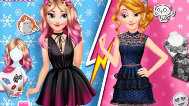 princesas rivales - juega a juegos en línea gratis en juegos