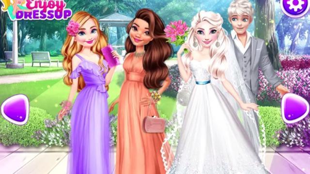 la maravillosa boda de eliza - juega a juegos en línea gratis en