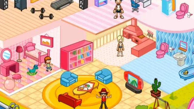 Fancy Doll House Decoraion Play The Free Game Online