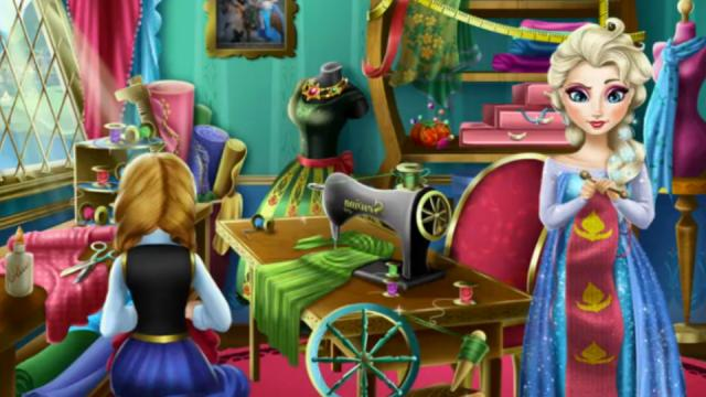 Frozen Design Rivals Play The Girl Game Online