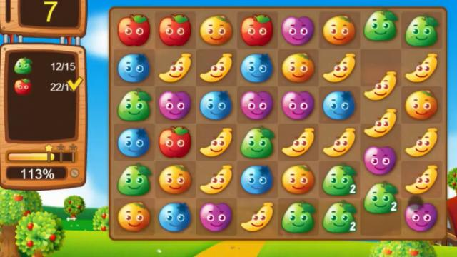 Fruit Match - Game - Play Online For Free - Download