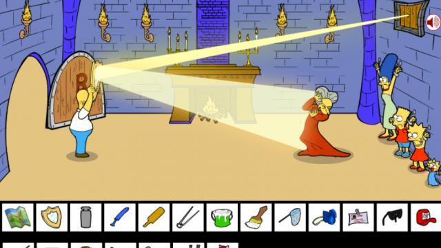 Homer Simpson Saw Game Game Escape Games Gamesfreak