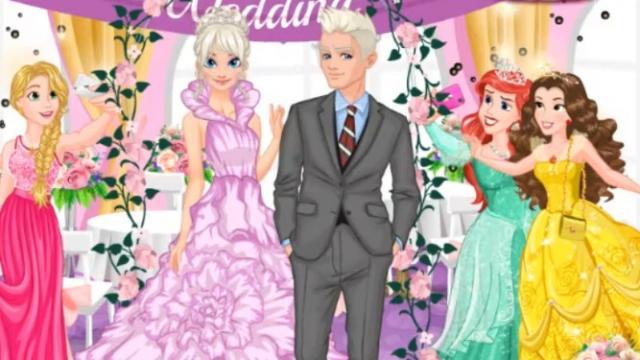 casamiento de la princesa de hielo - juega a juegos en línea gratis