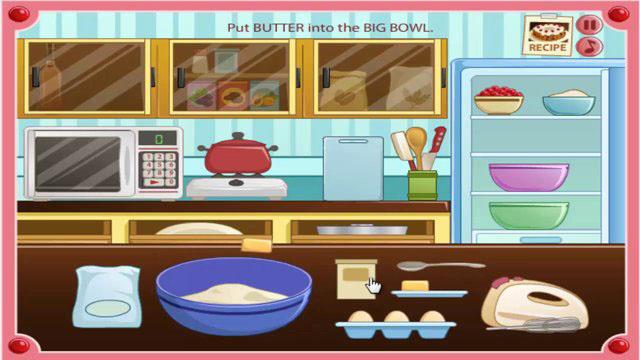 Rachel S Kitchen Grandprix Cake Baking Game Free Online Games At