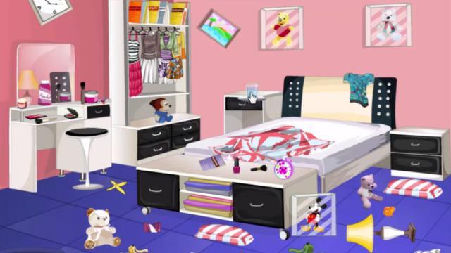 Limpia el dormitorio sucio de una chica! - Juega en PaisdelosJuegos!