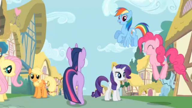 mlp meet the ponies of ponyville
