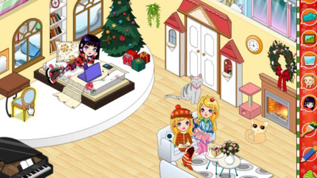 my xmas room a free girl game on girlsgogamescom