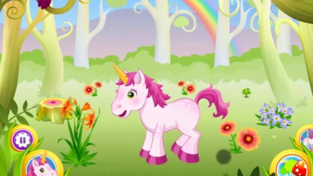Juega Con Tu Unicornio Juega A Juegos En Linea Gratis En Juegos Com