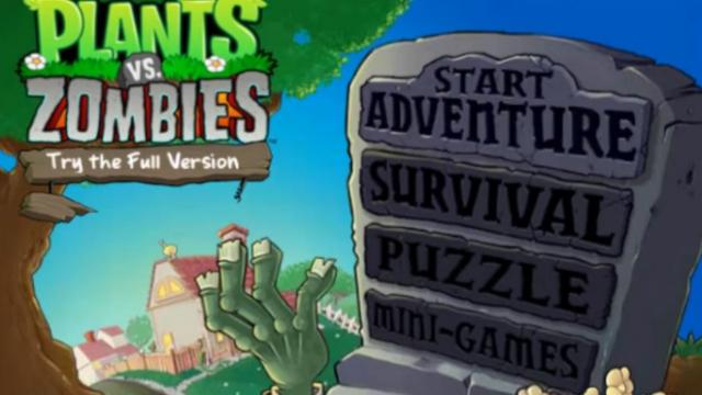 Plants Vs Zombies Free Online Games At Agame Com