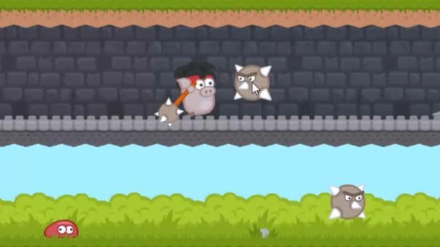 Pork Chopper Game Action Games Gamesfreak