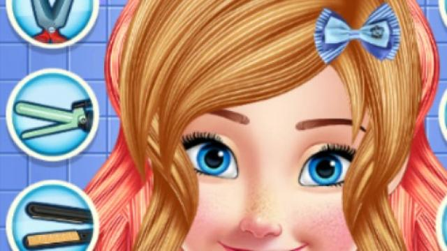 Princess Anna Hair Salon Play The Free Game Online