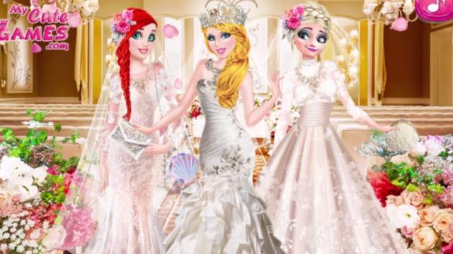princesa: colección de moda para novias - juega a juegos en línea