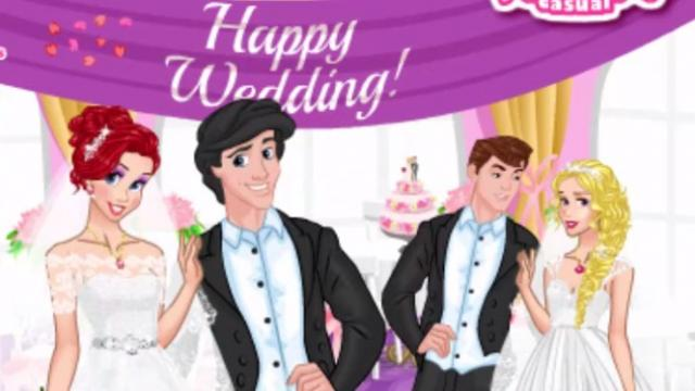 Princesses double wedding play the girl game online junglespirit Gallery