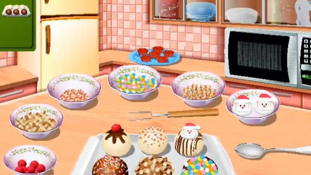 Palline Di Torta Cucina Con Sara Gioca Giochi Online Gratuiti Su