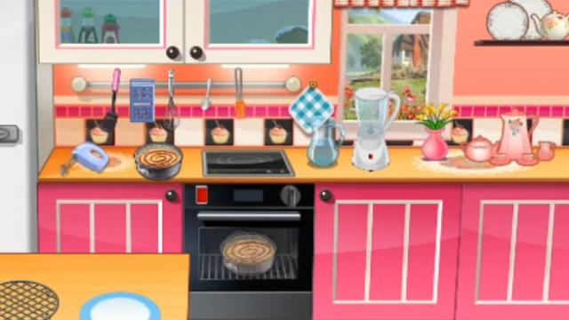 Juegos de hacer tartas con sara excellent cocinar tarta de fresa con chocolate fotos del juego - Cocina con sara paella ...