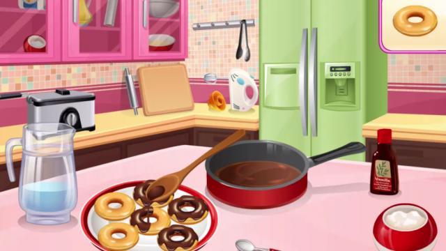 Rosquillas Cocina Con Sara Juega A Juegos En Linea Gratis En