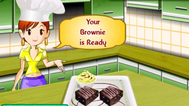 Juegos De Cocina Consara | Brownies Cocina Con Sara Juega A Juegos En Linea Gratis En
