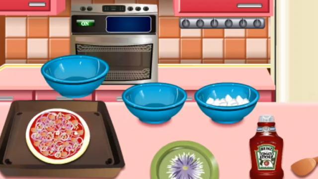 Pizza Casera Cocina Con Sara Juega A Juegos En Linea Gratis En