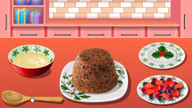 Juegos de cocina con sara en navidad great mario dispara for Cocina de navidad con sara