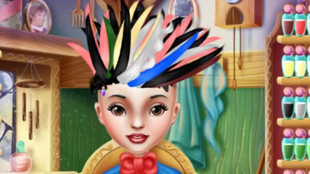 Snow White Real Haircuts Goboplay Free Online Mobile Tablet Games