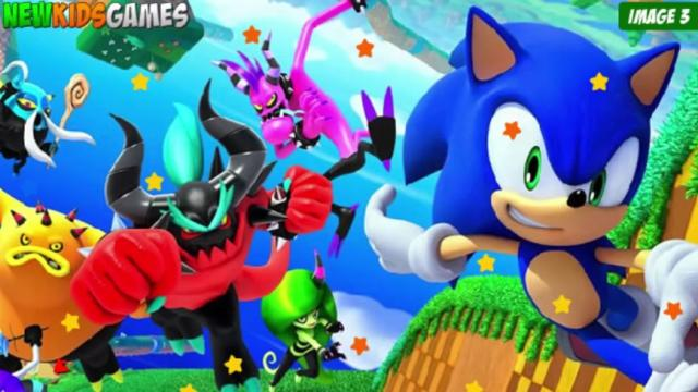 Sonic Hidden Stars Game - Sonic Games - GamesFreak