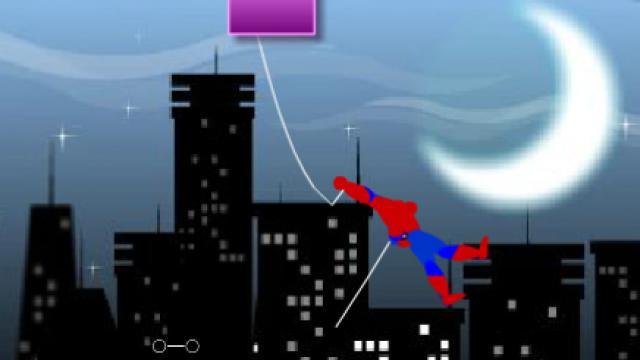 Game siêu nhân thành phố người nhện