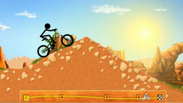 Stickman Downhill Jogue Stickman Downhill Gratis No Poki