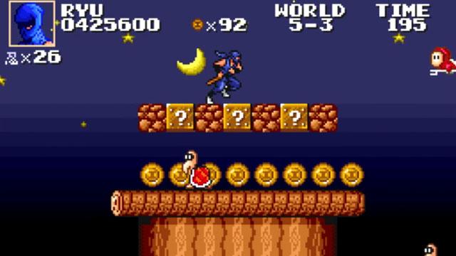 Super Mario Bros  Crossover 3 - online game | Mahee com
