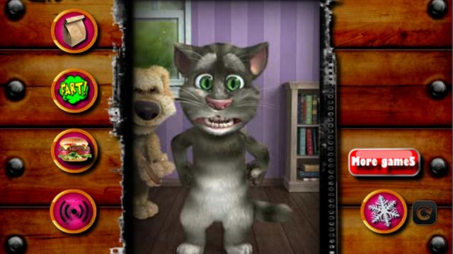 talking tom funny time play the free game online