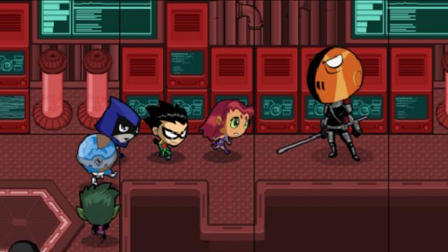 all-teen-titans-games