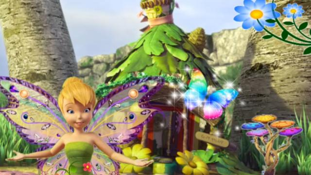 Tinkerbell Magic Garden - Play The Free Game Online